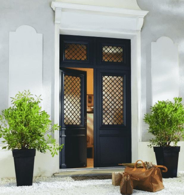 Portes d'entrée en Bois par Bel'm site maison thorel