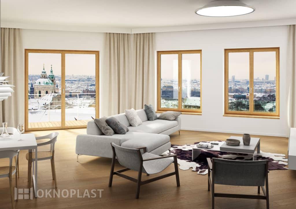Fenêtres PVC par Oknoplast Charme Mini site maison Thorel